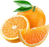 Image of a delicious juicy orange